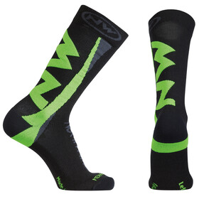 Northwave Extreme Winter Socks Men black/green fluo